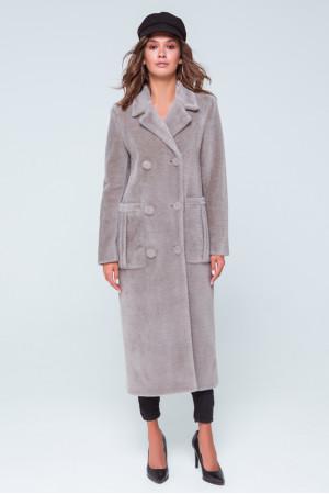Женское пальто «Скарлетт» цвета капучино
