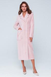 Жіноче пальто «Скарлетт» рожевого кольору