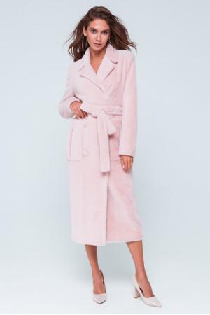 Женское пальто «Скарлетт» розового цвета