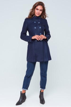 Женское пальто «Эмбер» синего цвета