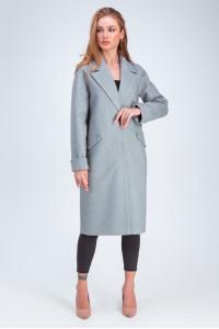Жіноче пальто «Демі» сірого кольору
