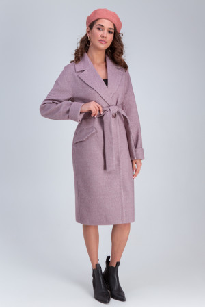 Жіноче пальто «Демі» рожевого кольору
