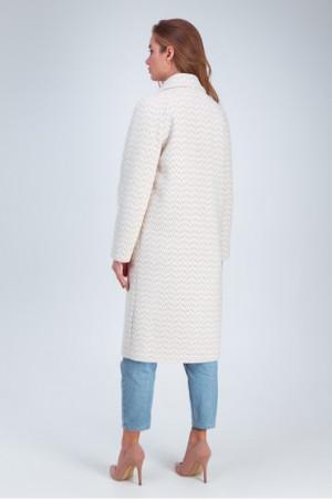 Жіноче пальто «Інді» бежевого кольору