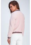 Бомбер «Адді» рожевого кольору