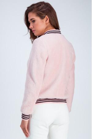 Бомбер «Адди» розового цвета