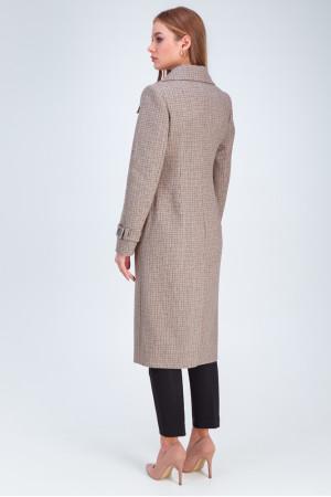 Жіноче пальто «Бруна» кольору капучино
