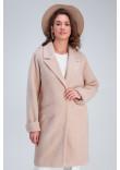Жіноче пальто «Емма» бежевого кольору