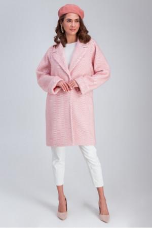 Женское пальто «Эмма» розового цвета