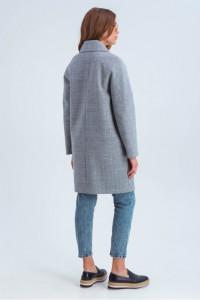 Жіноче пальто «Астрід» сірого кольору