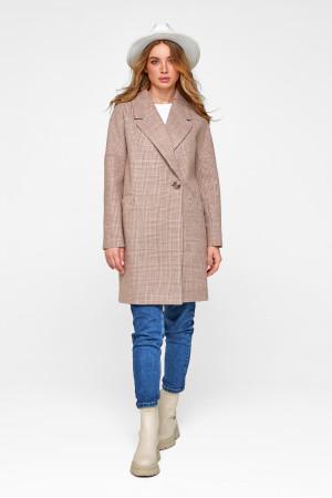 Жіноче пальто «Астрід» кольору кемел