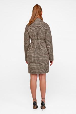 Женское пальто «Астрид» цвета кофе
