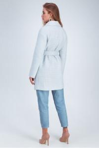 Жіноче пальто «Лілі» блакитного кольору