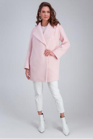 Жіноче пальто «Лілі» рожевого кольору