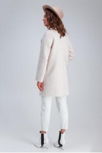 Жіноче пальто «Лілі» бежевого кольору