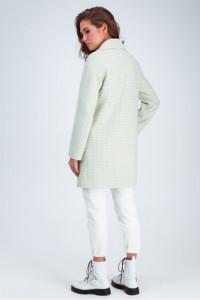 Жіноче пальто «Лілі» фісташкового кольору
