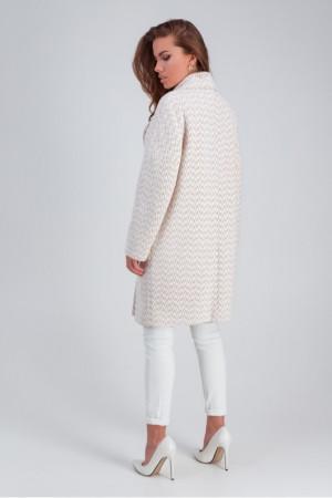Женское пальто «Ясмин» бежевого цвета
