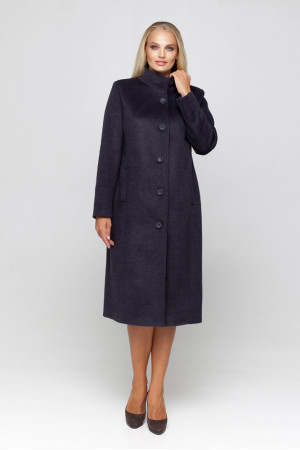 Жіноче пальто «Ода» ультрафіолетового кольору