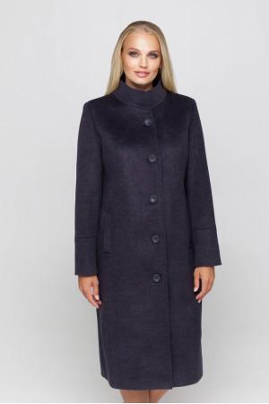 Женское пальто «Ода» ультрафиолетового цвета