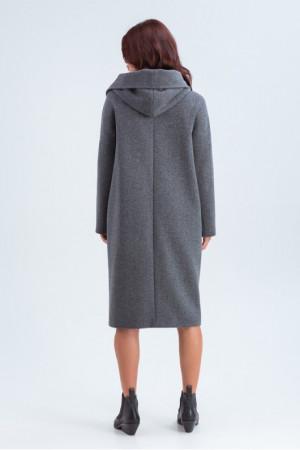Жіноче пальто «Лаура» сірого кольору