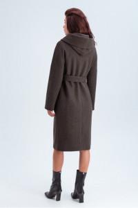 Жіноче пальто «Лаура» коричневого кольору
