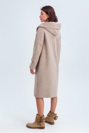 Жіноче пальто «Лаура» бежевого кольору