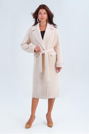Женское пальто «Катарина» светло-бежевого цвета