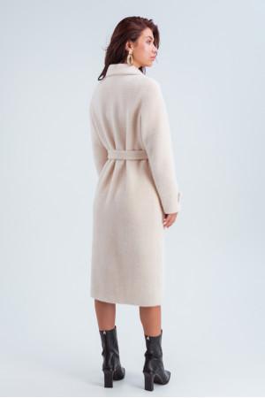 Жіноче пальто «Катаріна» світло-бежевого кольору