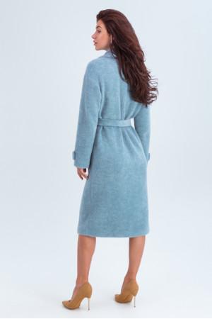Жіноче пальто «Катаріна» блакитного кольору