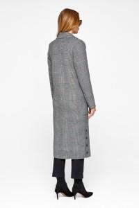 Жіноче пальто «Асті» чорного кольору
