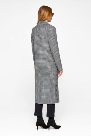 Женское пальто «Асти» черного цвета