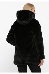 Кожушок «Тіана» чорного кольору