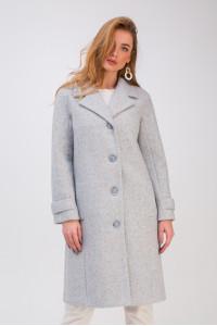 Жіноче пальто «Френсіс» блакитного кольору
