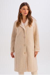 Жіноче пальто «Френсіс» бежевого кольору
