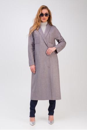 Жіноче пальто «Ілана» кольору марсала