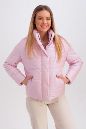 Куртка «Джасти» розового цвета