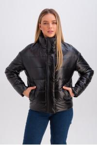 Куртка «Джасті» чорного кольору
