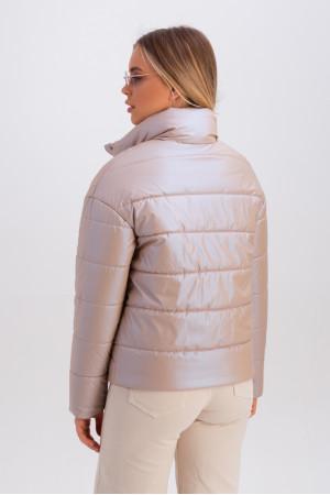 Куртка «Джасти» бежевого цвета