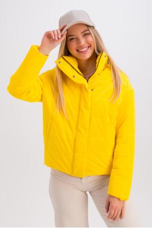 Куртка «Джасти» желтого цвета