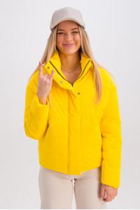 Куртка «Джасті» жовтого кольору