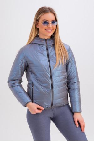 Куртка «Трейсі» кольору ультрафіолет