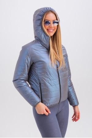 Куртка «Трейси» цвета ультрафиолет
