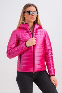 Куртка «Трейси» малинового цвета