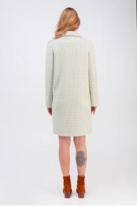 Жіноче пальто «Афіна» фісташкового кольору