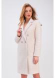 Жіноче пальто «Афіна» бежевого кольору