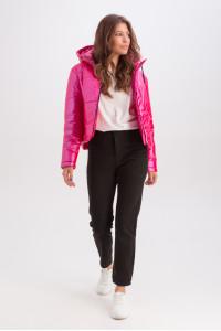 Куртка «Оксі» малинового кольору