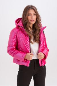 Куртка «Окси» малинового цвета