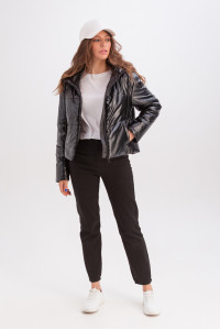 Куртка «Окси» черного цвета