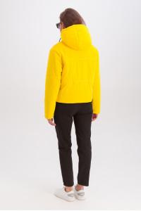 Куртка «Окси» желтого цвета
