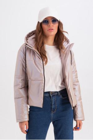 Куртка «Окси» бежевого цвета