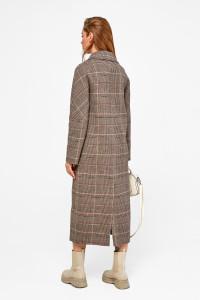 Жіноче пальто «Доріс» кольору кави